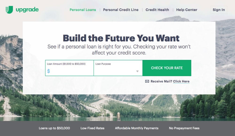 Upgrade Personal Loans Review 2019